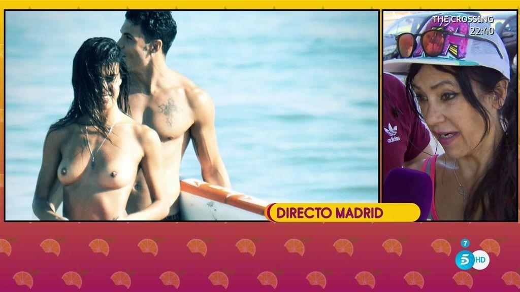 El día de playa de Sofía Suescun y Kiko Jiménez antes de su altercado con la policía: Cremita, besos y topless
