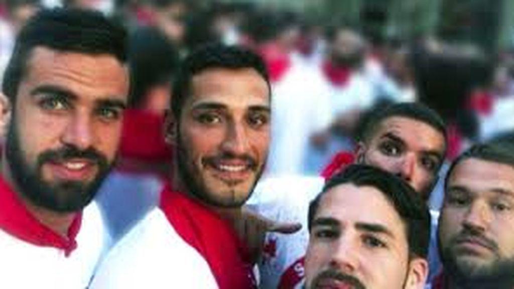 Tres miembros de la manada de Pamplona vuelve a los juzgados por el robo de 5 gafas en San Sebastián