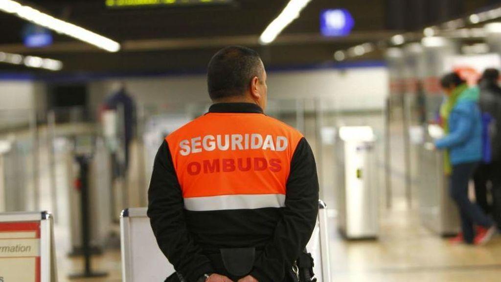 Los vigilantes del Metro y la EMT comienzan mañana una huelga indefinida por el impago de las nóminas