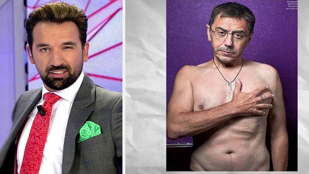 El Inesperado Desnudo De Juan Carlos Monedero