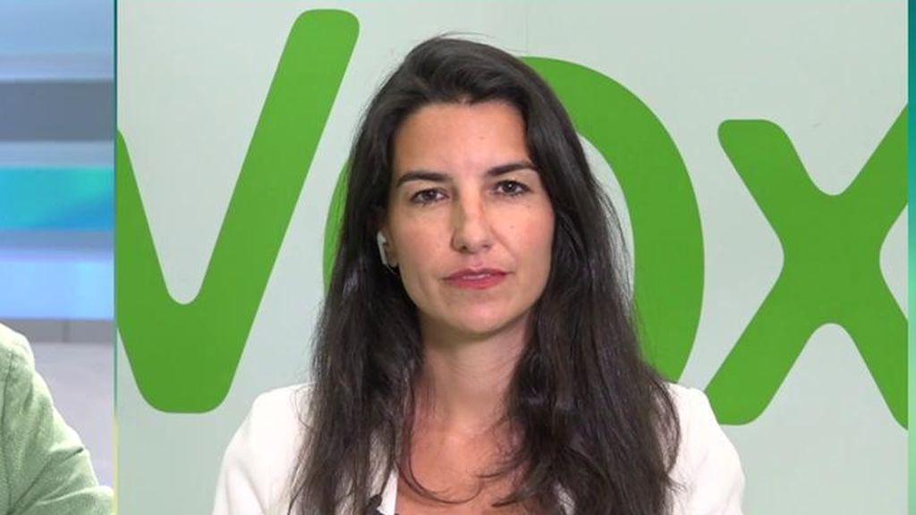 Rocío Monasterio habla de la Comunidad de Madrid