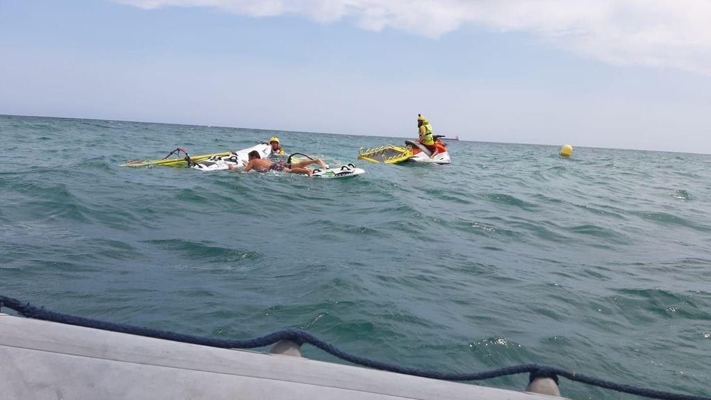 Fallece ahogado un hombre junto al espigón del Meliá en la playa del Postiguet de Alicante