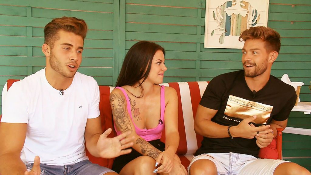 """Marco y David pillan en una mentira a Ainhoa: """"Te has liado con Barranco"""""""