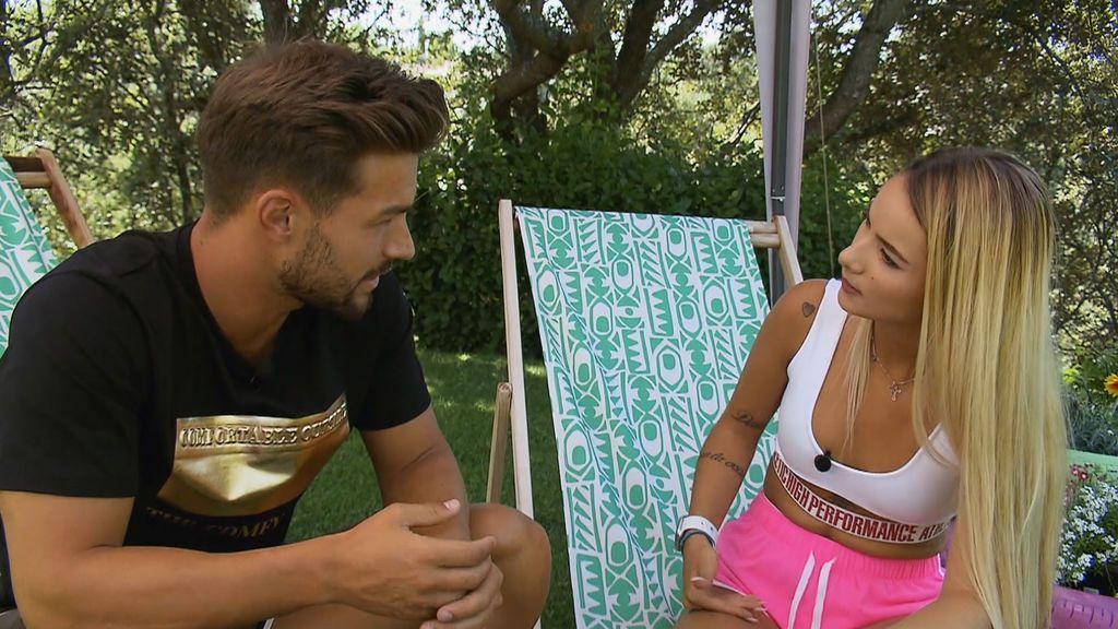 Michele le aclara a David cuál es su verdadera relación con Nicky Jam