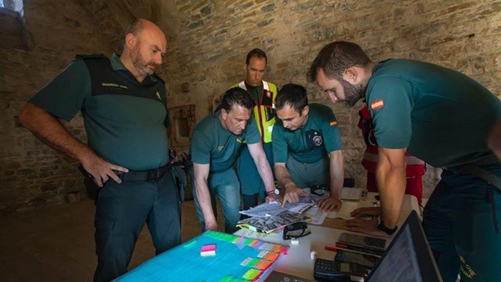 Operativo de búsqueda de la Guardia Civil