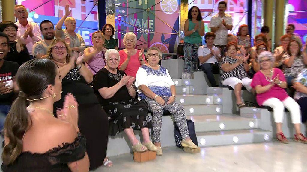 Anabel Pantoja pide perdón de rodillas
