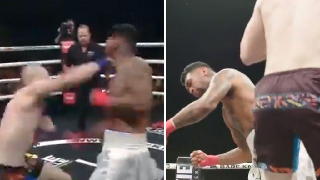 Un luchador se retira cinco horas después de ver repetido su KO y pensar en su mujer y sus hijos