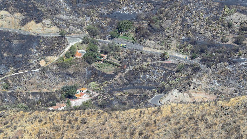Un segundo incendio asola la isla de Gran Canaria