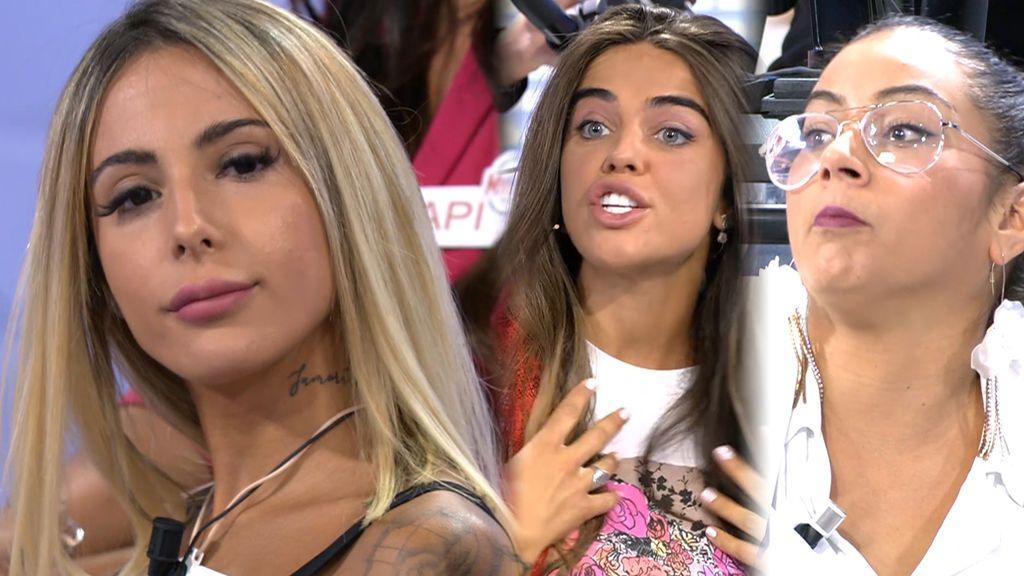 """Violeta y Dakota unen fuerzas contra Roci: """"Vas muy subida, bájate un poco"""""""