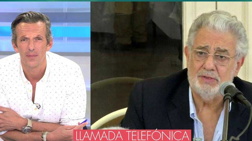 """Ainhoa Arteta: """"No me imagino que Plácido Domingo obligara a nadie a tener relaciones sexuales"""""""