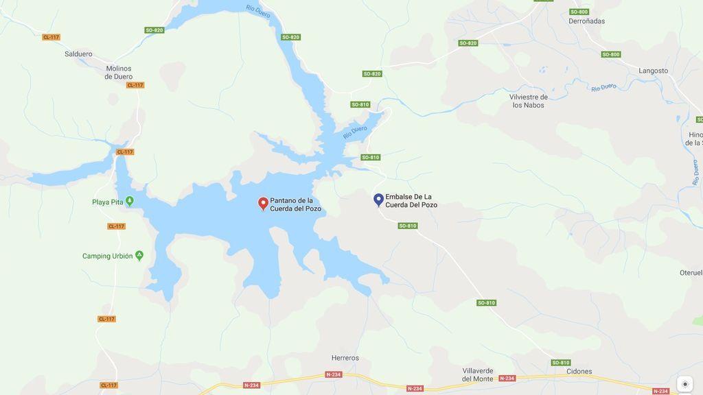 Dos heridos tras explotar una barca en el embalse de la Cuerda del Pozo (Soria)