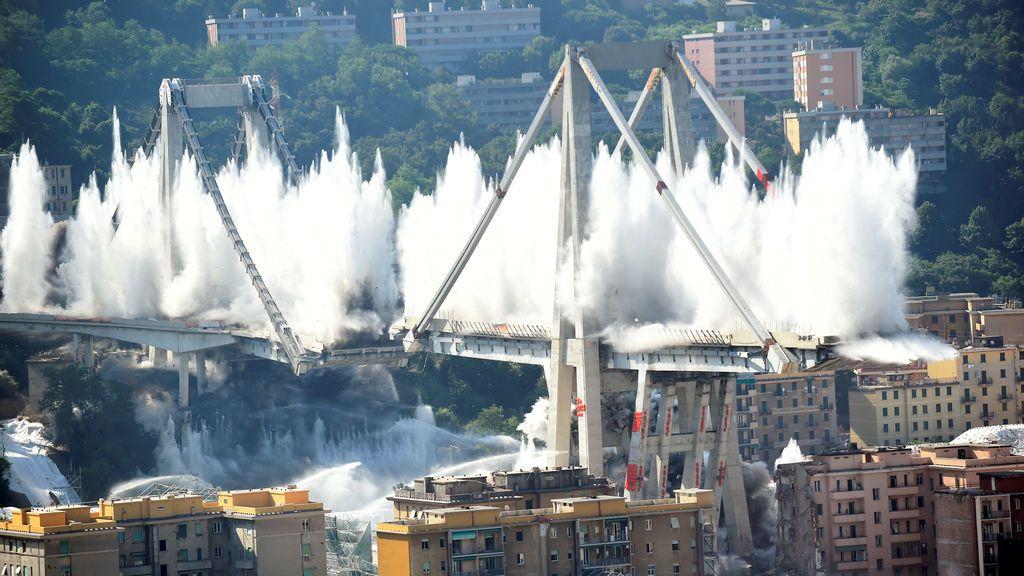 Más de 40 investigados en el primer aniversario del derrumbe del puente Morandi en el que murieron 43 personas