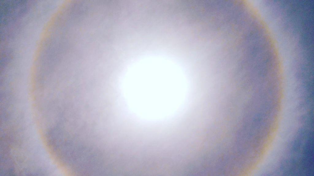 Halos y parhelios: qué tiempo va a hacer se ves uno de estos fenómenos ópticos