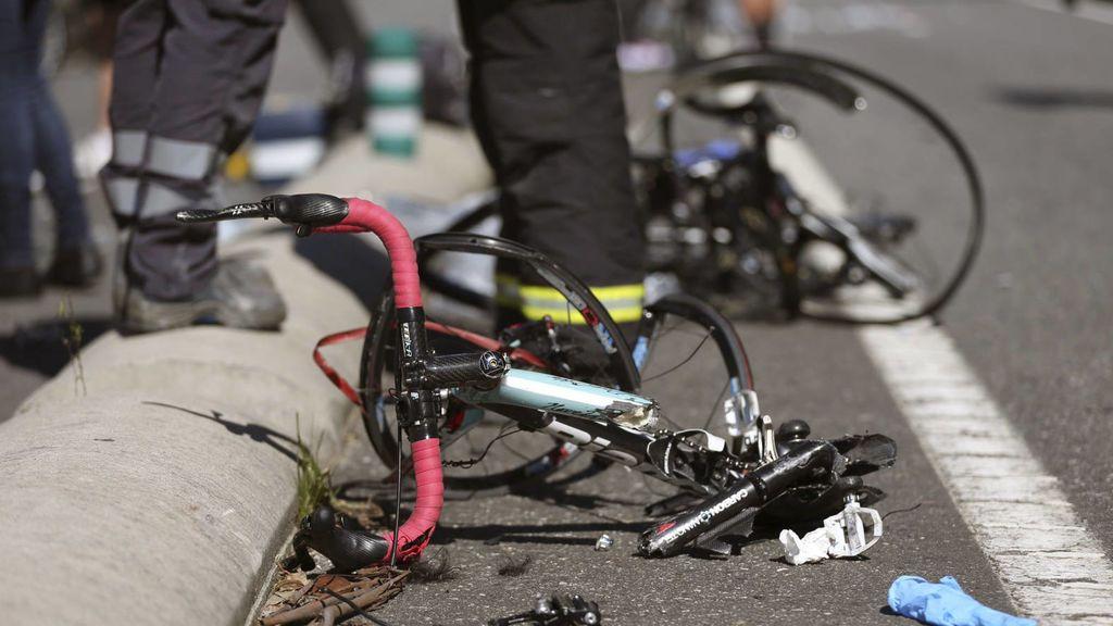 Muere atropellado un ciclista en la A2 cuando circulaba en dirección contraria en Sant Andreu de la Barca (Barcelona)