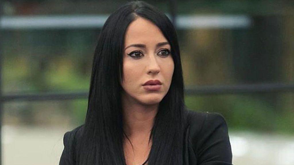 Aurah Ruiz ingresada en el hospital