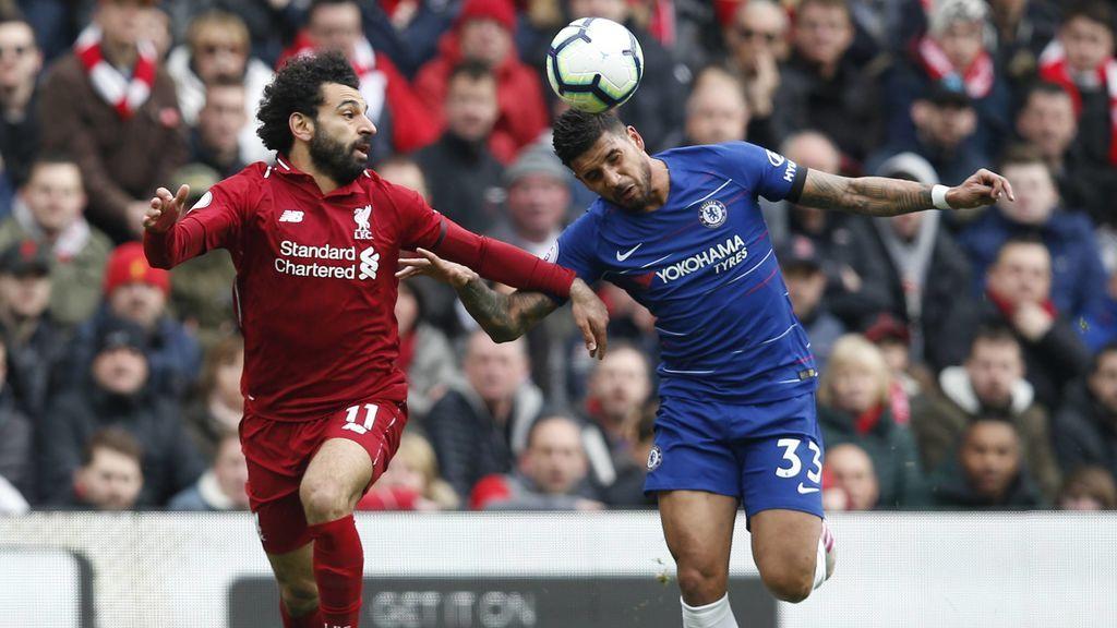 Un lance de un Liverpool-Chelsea.