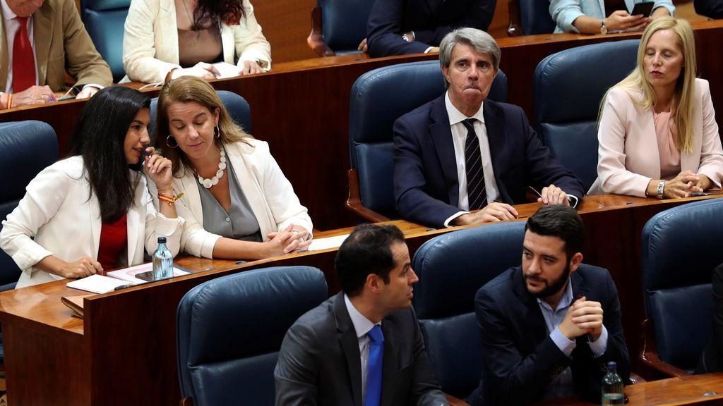 Ángel Garrido, consejero de Transportes de Díaz Ayuso