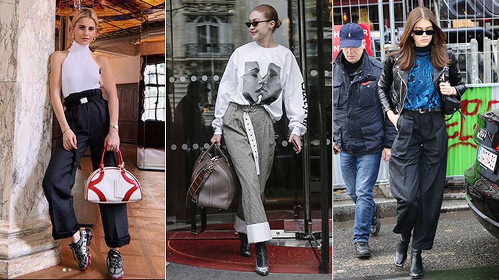 Cómo combinar los paper bag, esos pantalones que estilizan muchísimo