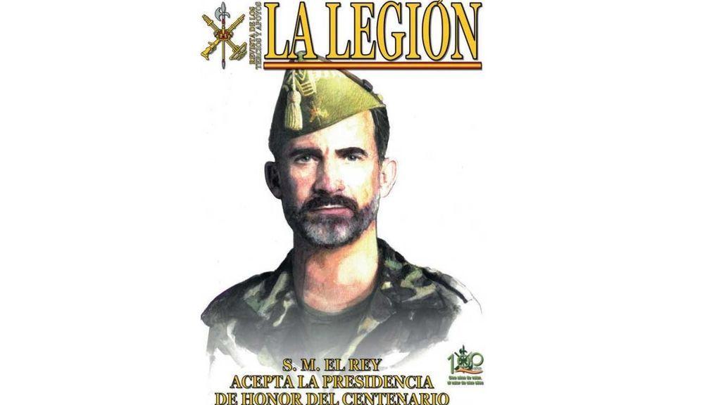 El Rey asume la Presidencia de Honor del centenario de la Legión española