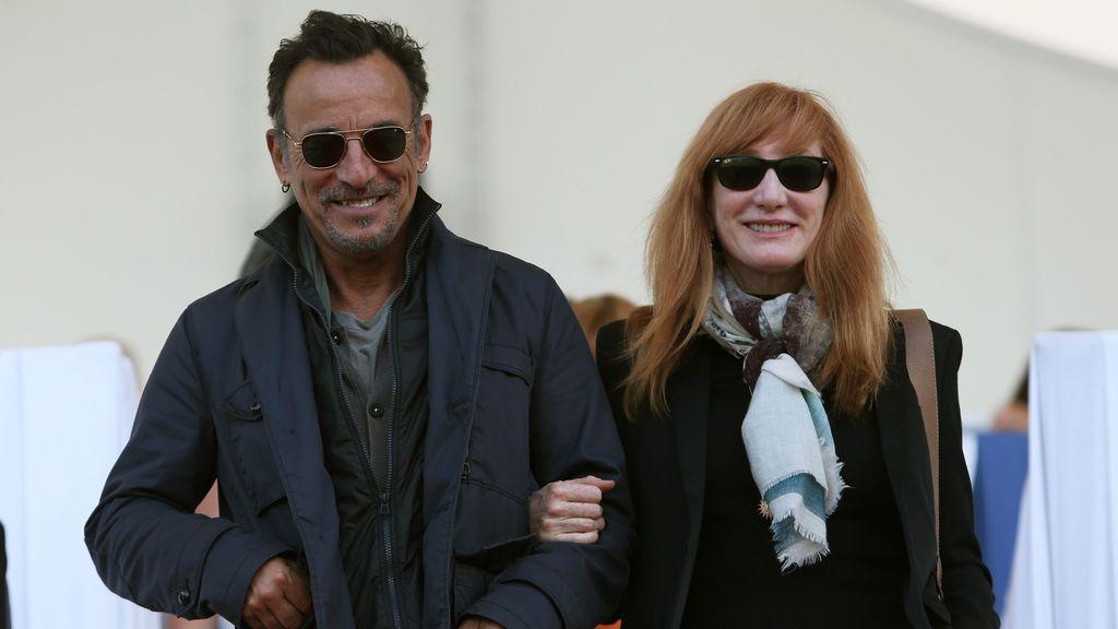 Springsteen y su mujer