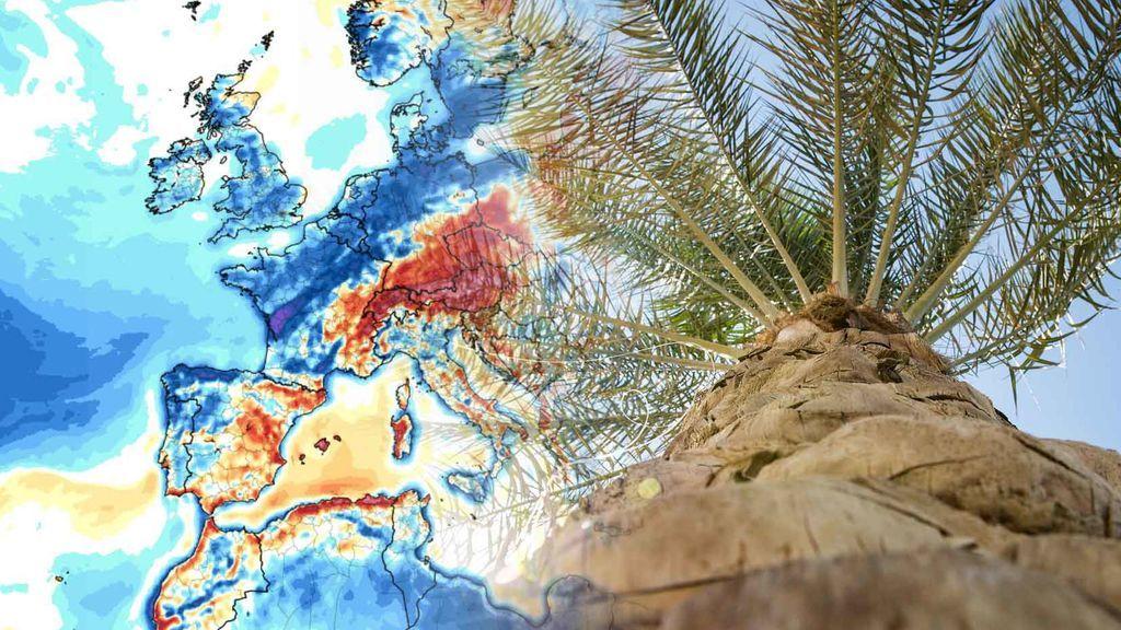 Sistema frontal en el norte y mucho calor en el sur: el tiempo que te espera el fin de semana