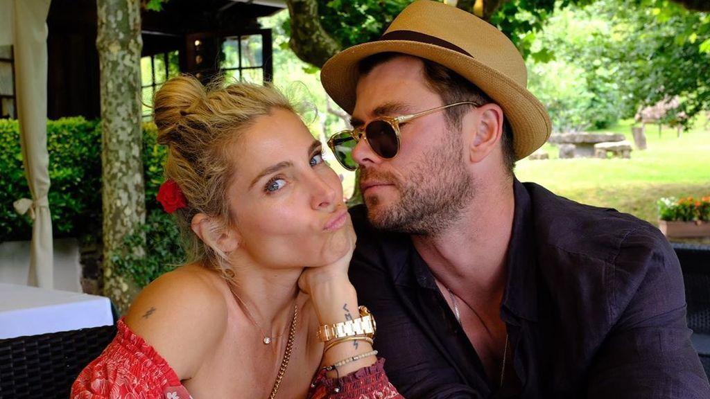 """El curioso regalo de Elsa Pataky a Chris Hemsworth por su cumpleaños: """"Lo tejió mi esposa"""""""