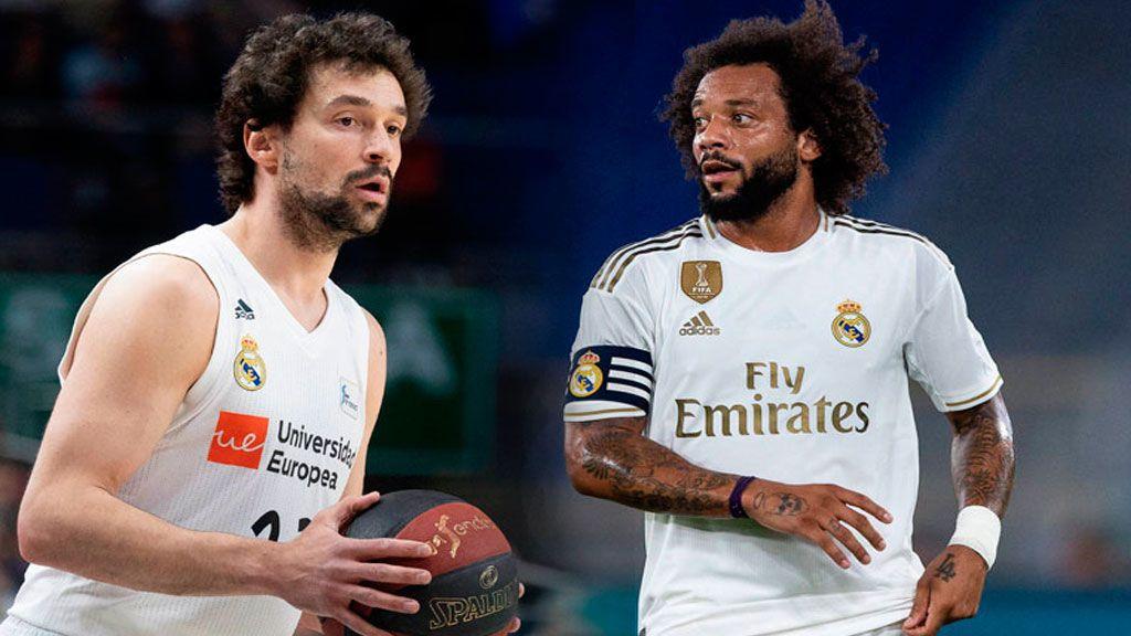 """El reto de Llull a Marcelo desde el entrenamiento de la selección: """"¿Qué te parece esta zurda?"""