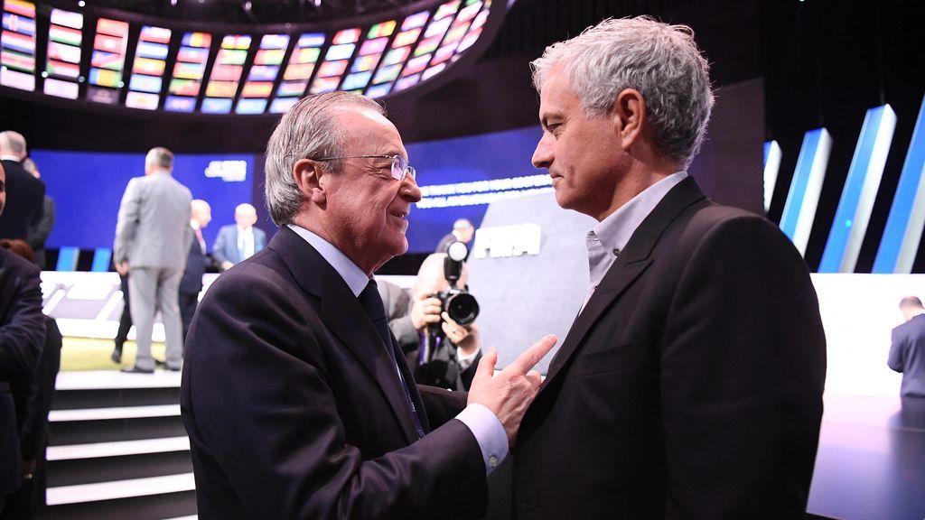 """José Mourinho, sobre el Real Madrid: """"Decirle que no  una vez es difícil, dos es muy difícil y tres es imposible"""""""