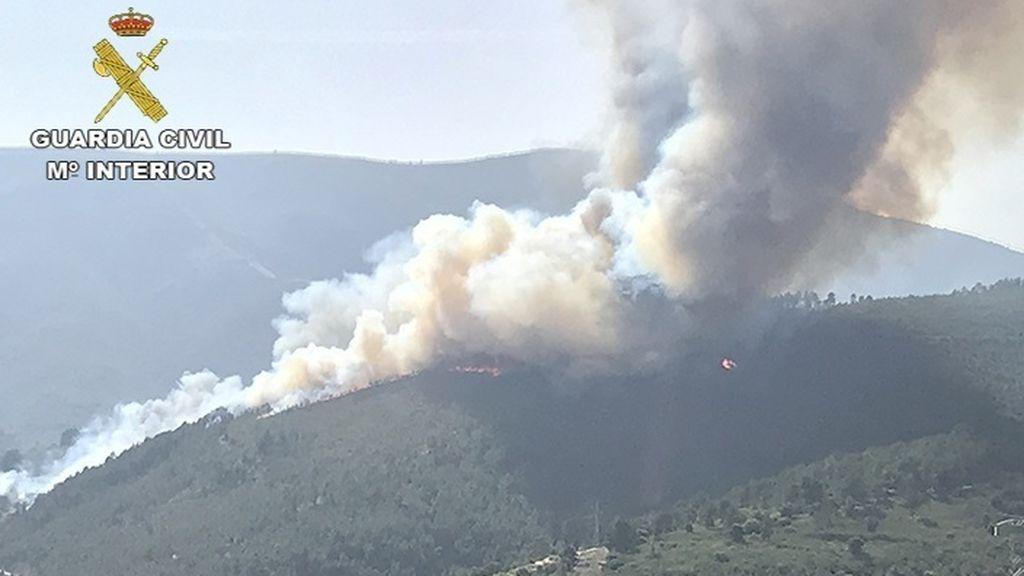 La Guardia Civil detiene a nueve personas por provocar 11 incendios en seis provincias