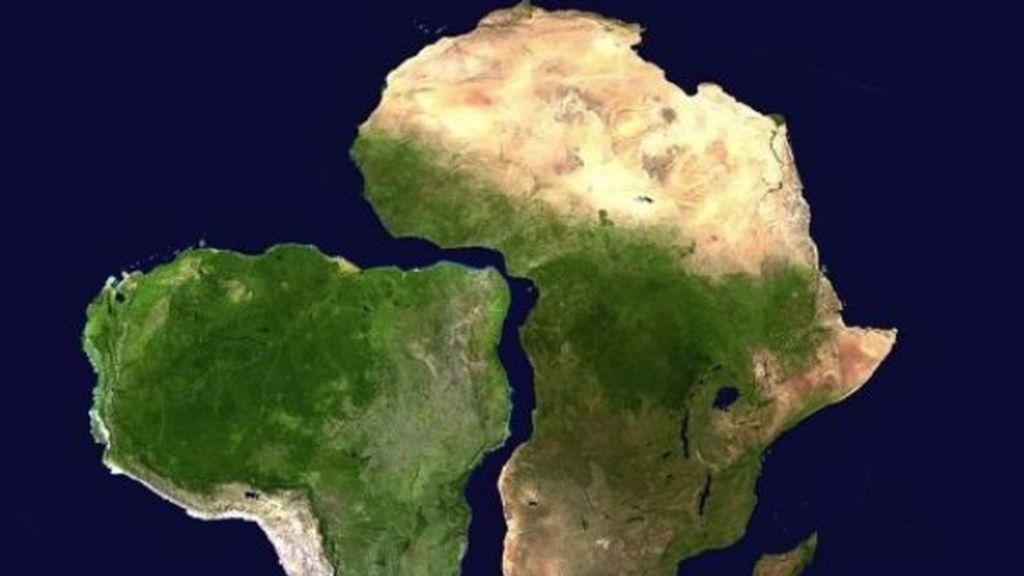 """""""Me acabo de dar cuenta que África y América encajan"""":  las burlas de Twitter a un usuario que descubre el significado de Pangea"""