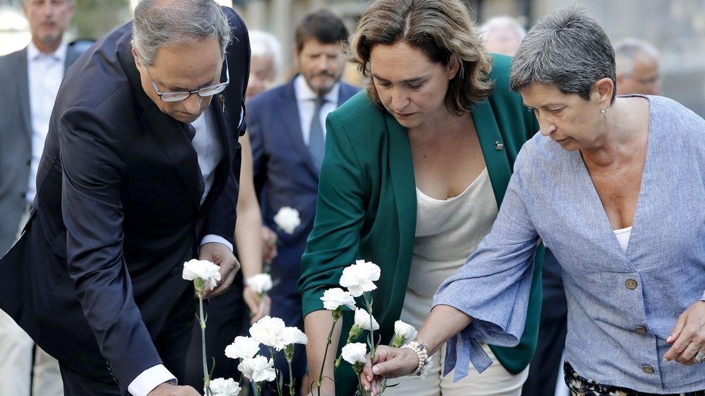 Segundo aniversario del atentado en Barcelona : dolor y silencio por las víctimas del 17A