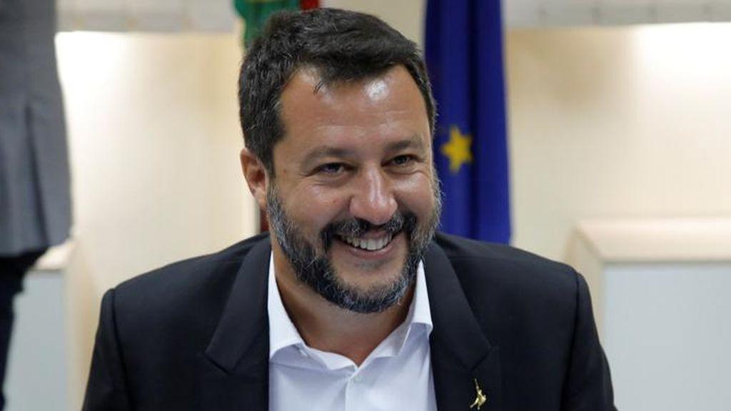 """La respuesta de Salvini ante el ofrecimiento de España para el desembarco del Open Arms: """"Quien gana, gana"""""""