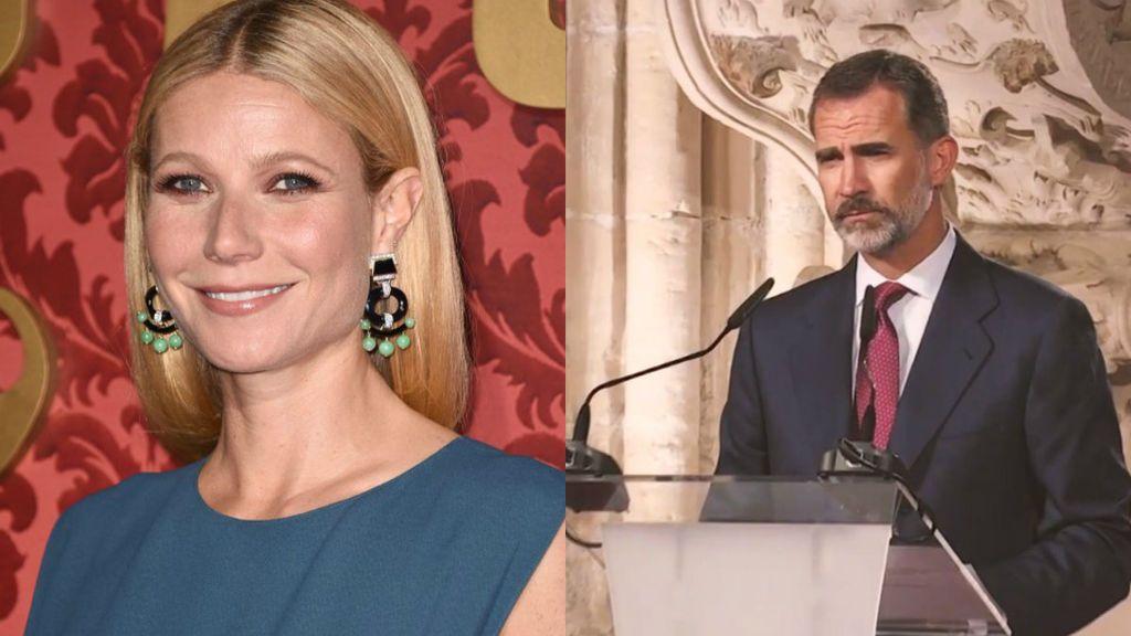 Felipe y Gwyneth Patrow