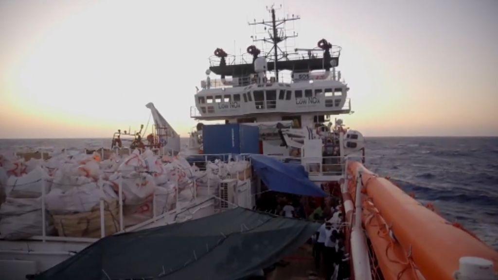El Open Arms rechaza la propuesta de Pedro Sánchez para desembarcar en Algeciras