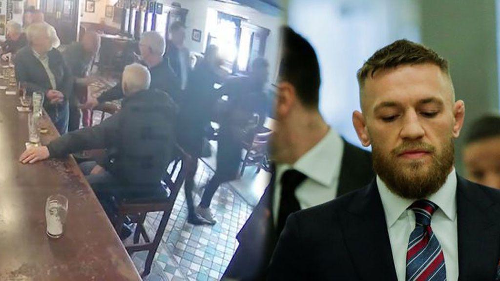La víctima de 60 años del puñetazo de McGregor asegura que no pudo salir de casa en una semana