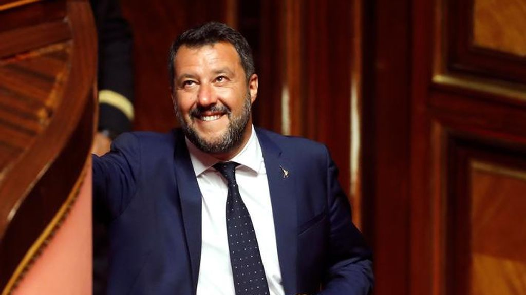 Matteo Salvini responde en Twitter al ofrecimiento de Algeciras como puerto para el desembarco del Open Arms