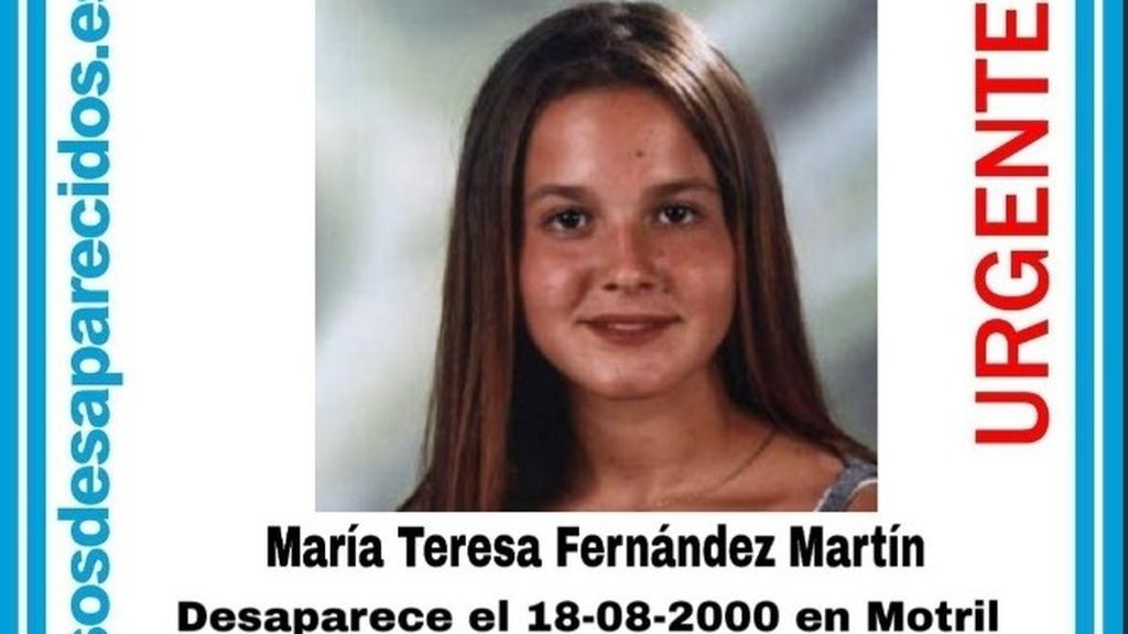 Se cumplen 19 años desde la desaparición de María teresa, la joven desaparecida en Motril