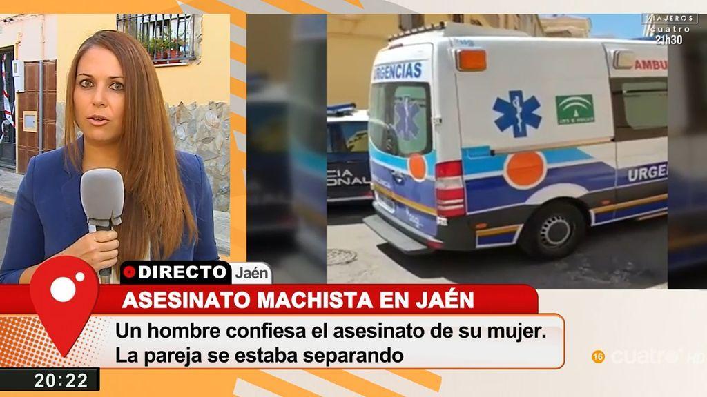 Primer asesinato machista del año en Jaén: un hombre mata a su mujer de 73 años con una barra de hierro