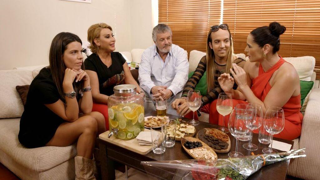 Rosa López, anfitriona en una velada no apta para carnívoros, en 'Ven a cenar conmigo. Gourmet Edition'