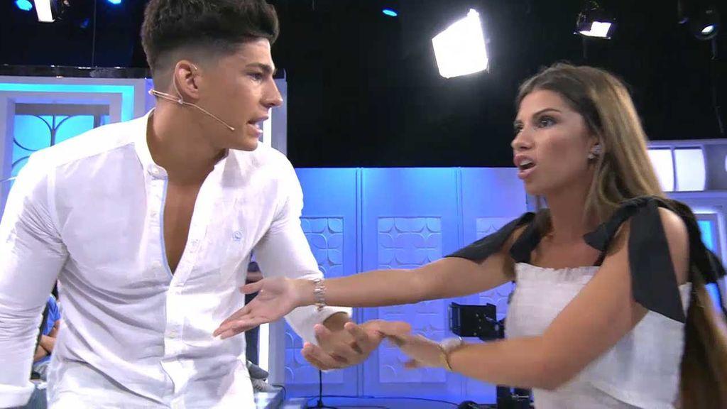 Jenni y Martí protagonizan una patética discusión en el plató de 'MyH'