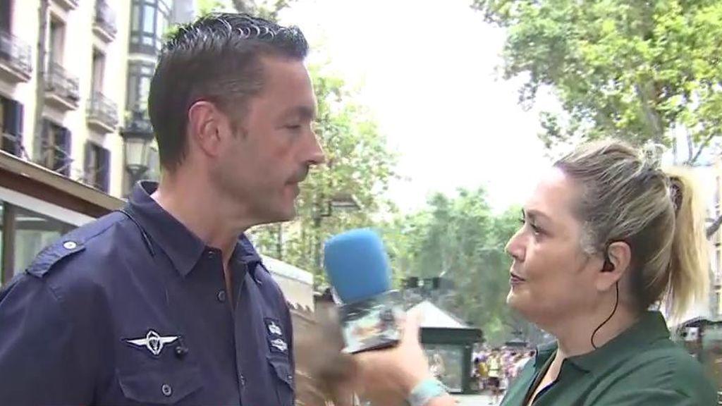 Habla un Mosso de la inseguridad de Barcelona