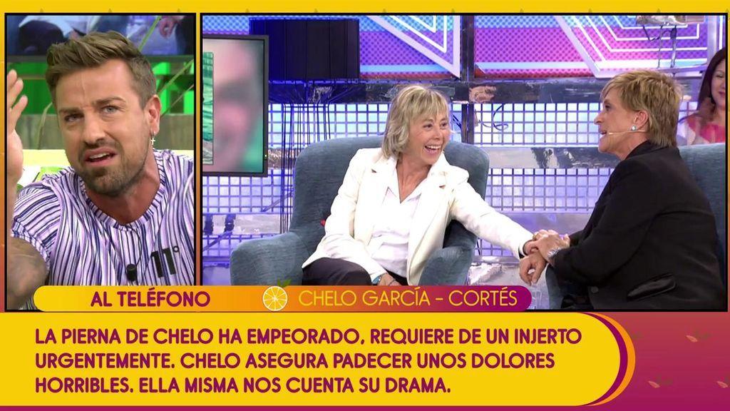 """El cabreo de Rafa Mora con Chelo García Cortés por reactivar la demanda: """"Te puedo fastidiar el día a ti y a tu pareja pero me tengo que callar"""""""