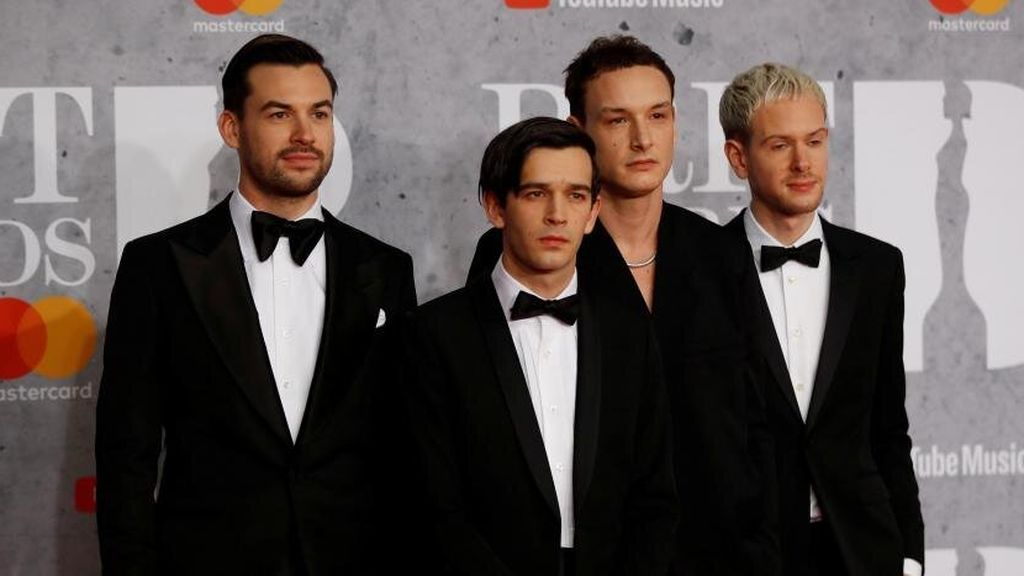 The 1975 en los Brit Awards 2019.