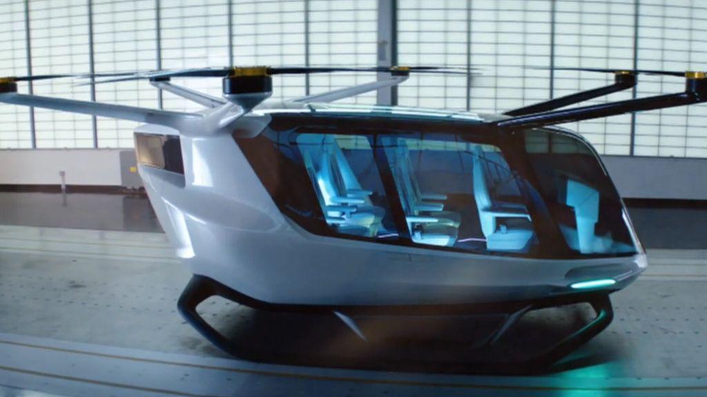 El taxi volador que prepara BMW