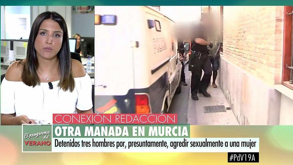 Nueva manada en Murcia: Detenidos tres hombres y una mujer