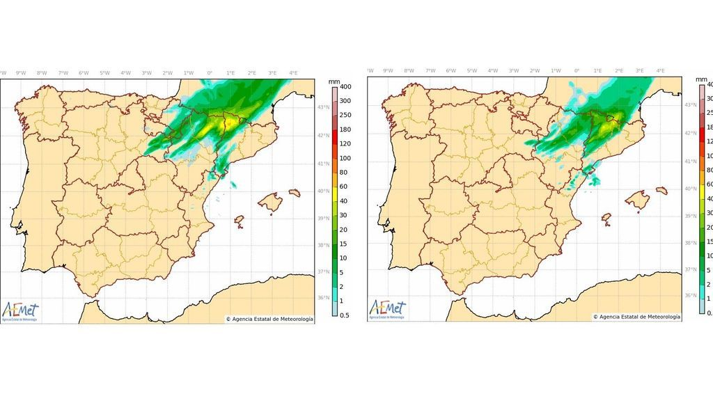 lluvias ultimas tres h+
