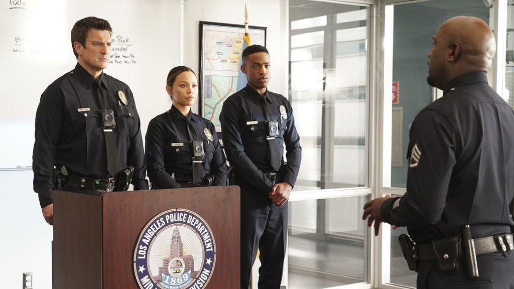 Una visita inesperada del vicepresidente de EE.UU. pone en alerta a los oficiales, en los nuevos episodios de 'The Rookie'