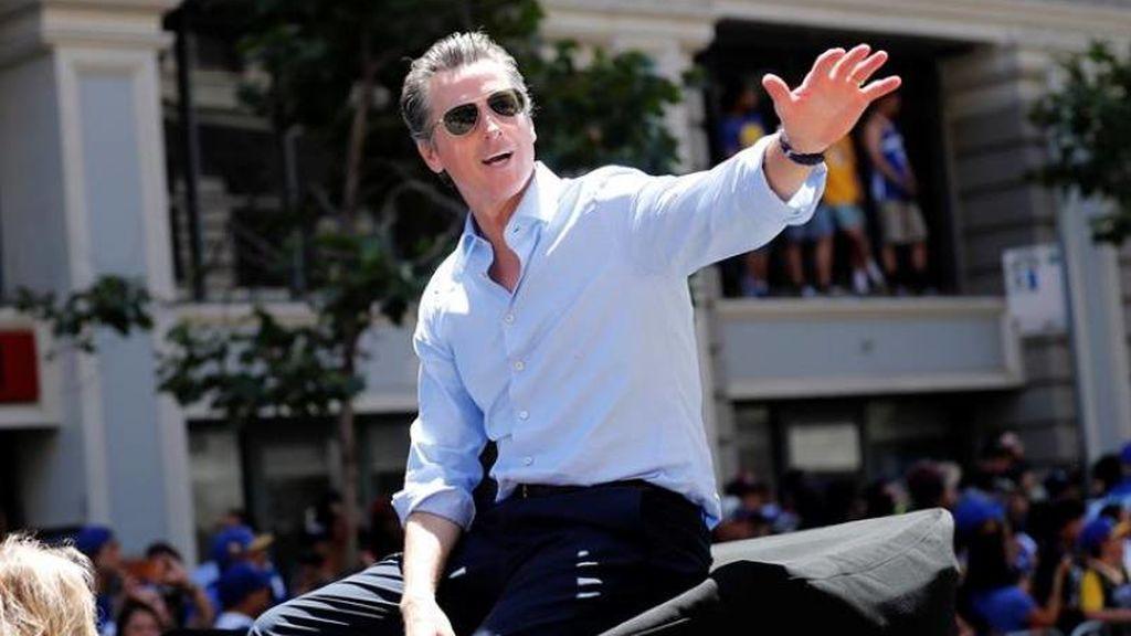 El Gobernador de California, Gavin Newson