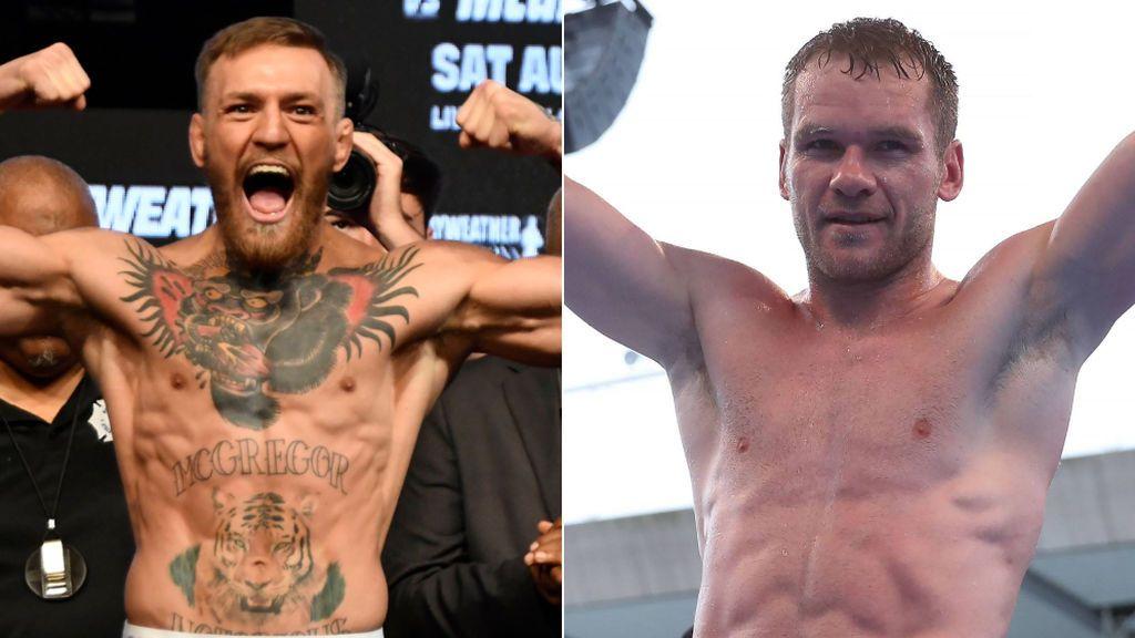 """McGregor acepta el combate con Luke Keeler después de desafiarle: """"Estaría feliz de ponerle en su lugar si tuviera pelotas"""""""