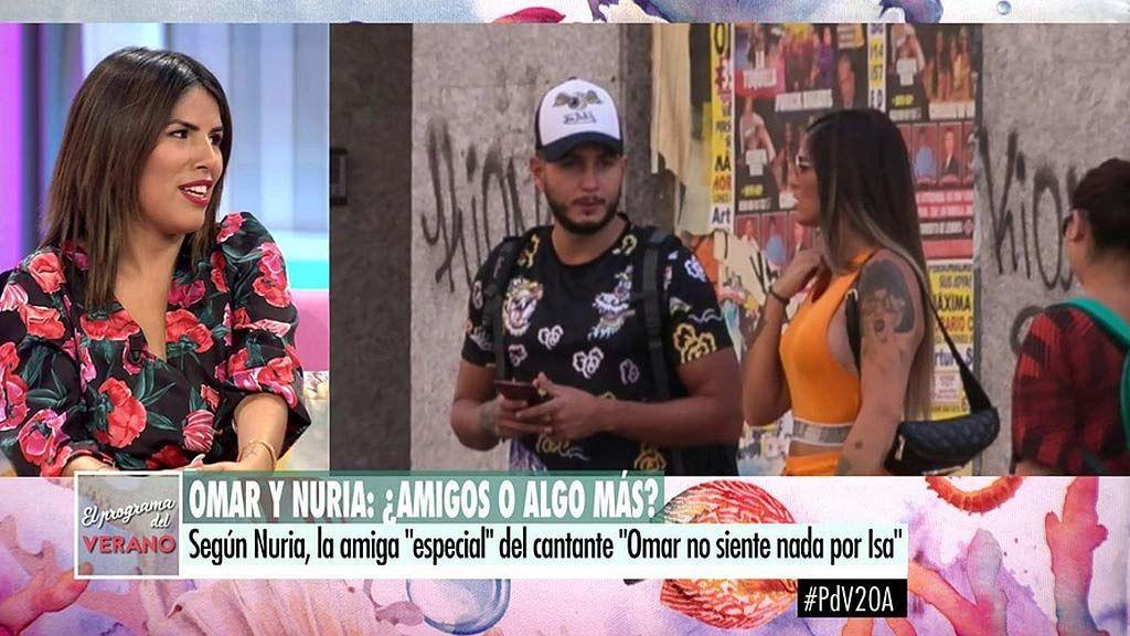"""Isa Pantoja, sobre Omar Montes: """"Creo que ayuda a mi hermano porque sabe que no hay nada conmigo y me tiene rabia"""""""